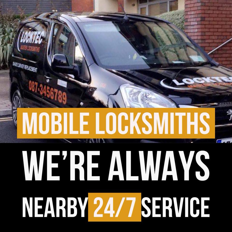 Mobile Locksmiths Dublin 24/7